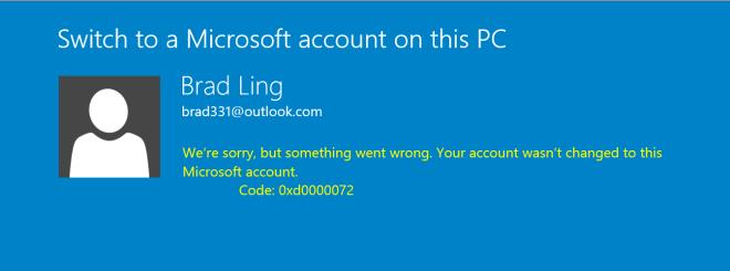 Can't login